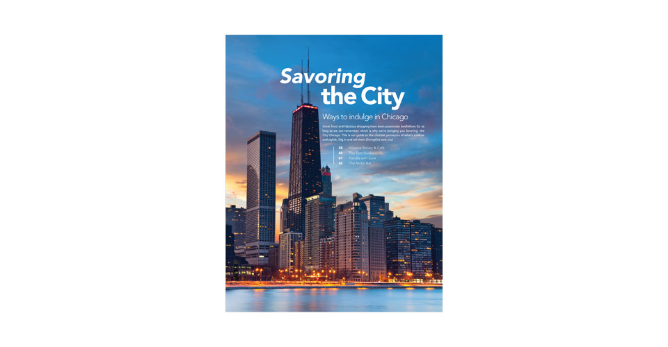 Savoring the City Cover